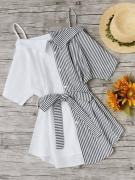 Выкройка платья-сарафана-рубашки - Платье рубашка-сарафан - готовая выкройка в натуральную величину для размеров от 40 до 52, и от 52 до 64 в одном файле ПДФ, без припусков на швы. Простая выкройка с пошаговой инструкцией как сшить для начинающих.