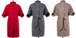 Выкройка пальто с цельнокроеным рукавом и стойкой