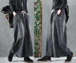 Простая выкройка юбки-брюк бохо с карманами