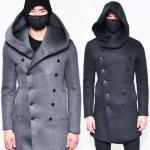 Выкройка пальто бушлата мужского с капюшоном