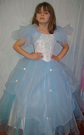 Выкройка платья с корсетом на девочку