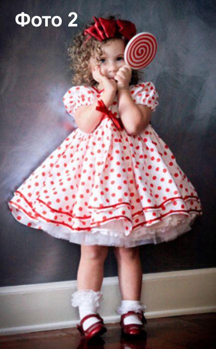 Выкройки детской одежды Шьем сарафан на бретельках на