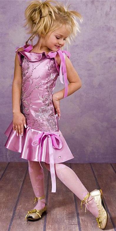 Выкройка платья для девочки 10 12 лет