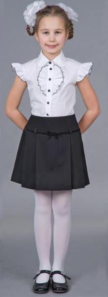 Выкроить юбку школьную