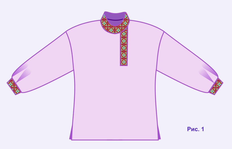 Русская народная рубаха косоворотка для мальчика своими руками