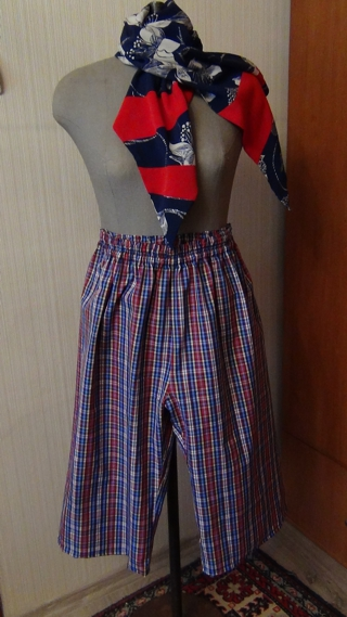 Сшить шорты на девочек 95