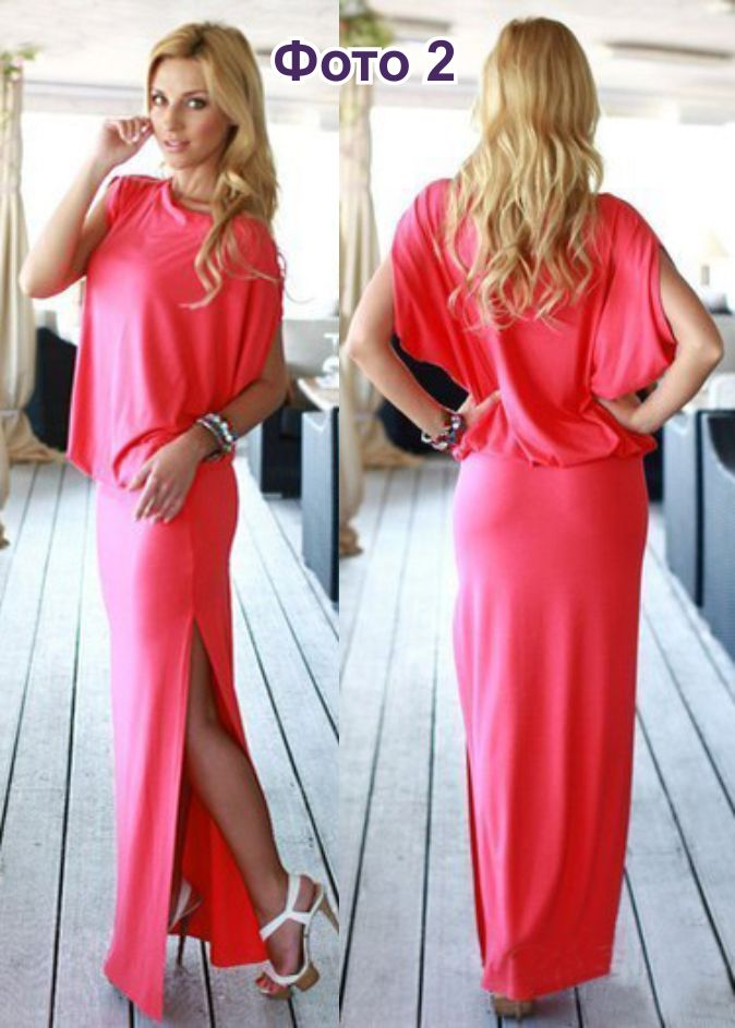 Платье с резинкой на одно плечо своими руками