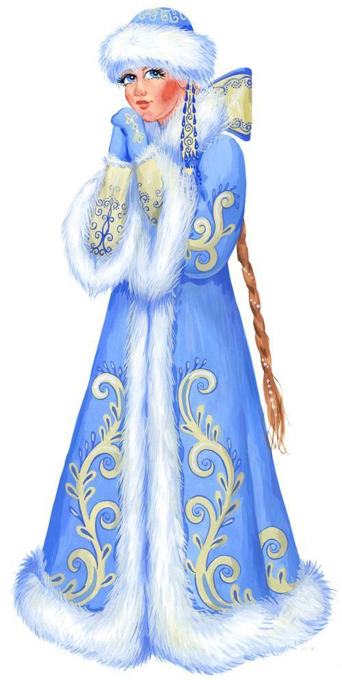 Новогодний костюм снегурочки для взрослых в картинках фото 170-761