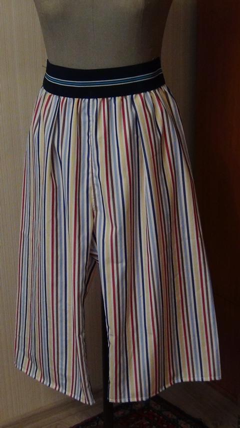 Как обработать юбку резинкой