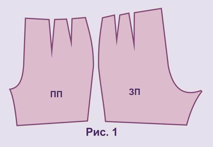 Выкройка и пошив женских шорт - Как научиться шить и кроить 52