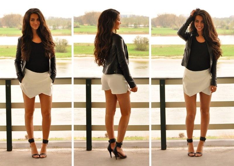 Крой юбки шортов