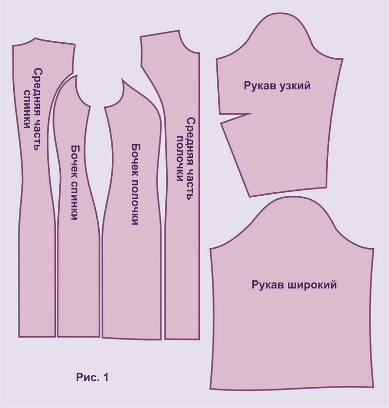 Выкройка платья футляр размер 40