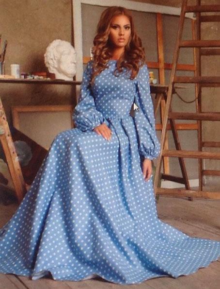 Платье с татьянкой выкройки