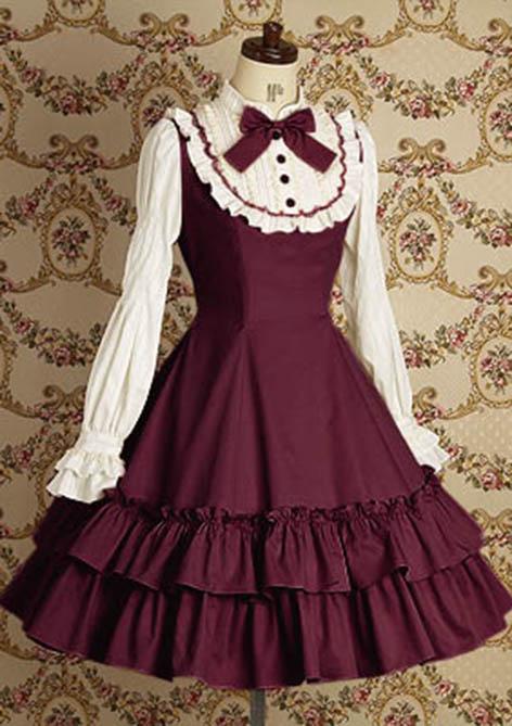 Выкройки платьев в стиле лолиты