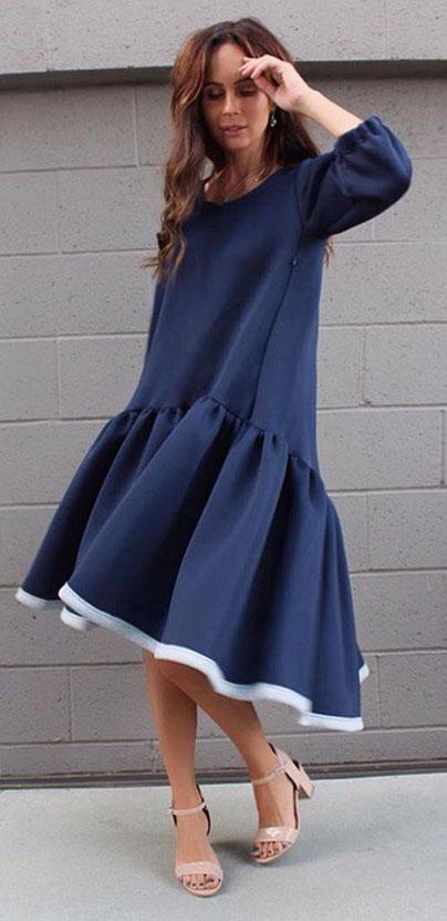 Модели платьев трапеция выкройка фото 986