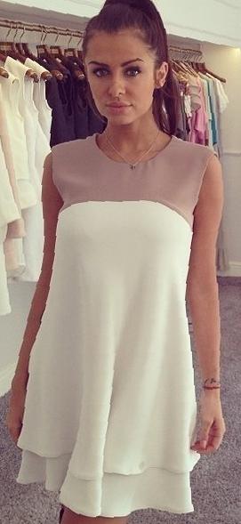 Бесплатная выкройка платье на кокетке
