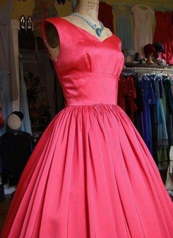 Фото выкройки пышного платья
